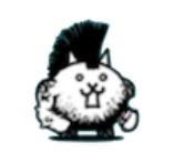 大 狂乱 の ネコ モヒカン
