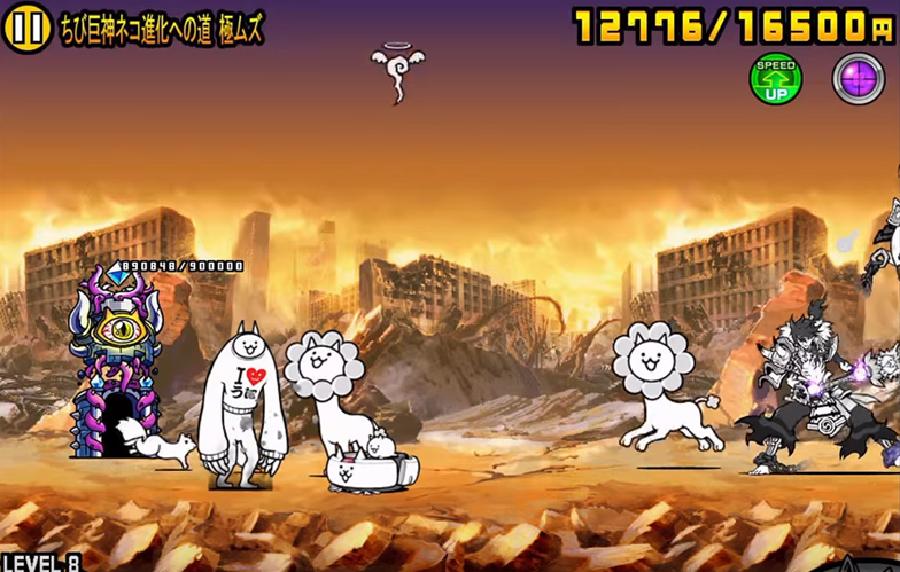 ちび巨神ネコ中盤2二体目宮木武蔵